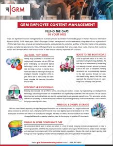 Employee Content Management Brochure
