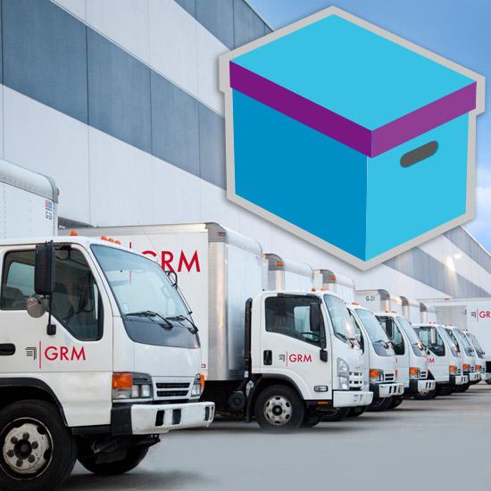 GRM-Document Storage Transportation Trucks