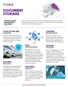 GRM Document Storage Solutions